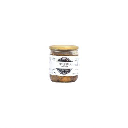 Cèpes cuisinés à l'huile 350g