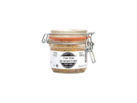 foie gras de canard entier 180g