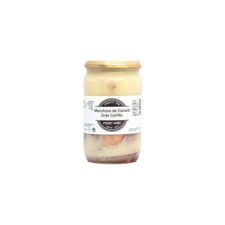 manchons de canard gras confits 650g