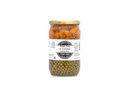 Petits pois et carottes extra-fins 660g